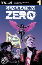 Valiant Entertainment's Generation Zero Issue # 1rccc