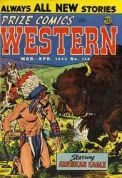 Prize Publications's Prize Comics Western Issue # 110