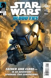 Dark Horse Comics's Star Wars: Blood Ties - Jango and Boba Fett Issue # 1