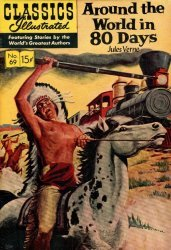 Gilberton Publications's Classics Illustrated #69: Around the World in 80 Days Issue # 11