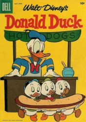 Dell Publishing Co.'s Donald Duck Issue # 53