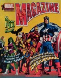 Scholastic's Marvel Super Heroes Collector's Club Magazine Issue # 9