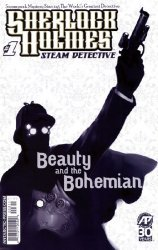 Antarctic Press's Sherlock Holmes: Steam Detective - Beauty and the Bohemian Issue # 1