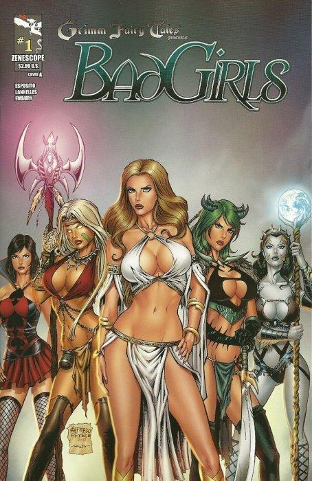 ~ Goblin Queen ~ Zenescope Grimm Fairy Tales 3A cover Grimm Universe #3