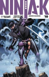 Valiant Entertainment's Ninja-K Issue # 10b