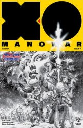 Valiant Entertainment's X-O Manowar Issue # 1borderland