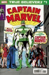 Marvel Comics's True Believers: Captain Mar-Vell Issue # 1