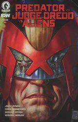 Dark Horse's Predator vs. Judge Dredd vs. Aliens Issue # 1