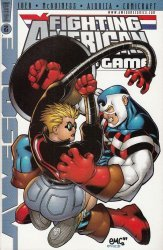 Awesome Entertainment's Fighting American: Rules of the Game Issue # 2c