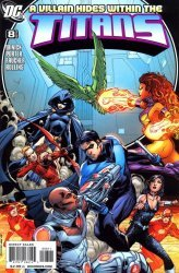 DC Comics's Titans Issue # 8