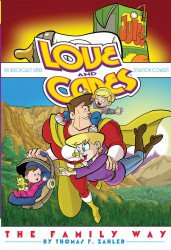 IDW Publishing's Love and Capes Soft Cover # 5