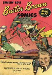Buster Brown Shoes's Buster Brown Comics Issue # 17roderers
