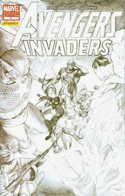 Marvel Comicss Avengers Invaders Issue 1c