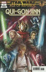 Marvel Comics's Star Wars: Age Of Republic - Qui-Gon Jinn Issue # 1f