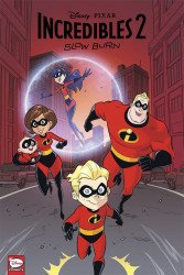 Dark Horse Comics's Disney/Pixar: Incredibles 2 - Slow Burn TPB # 1