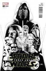 Marvel's Star Wars: Episode VII: The Force Awakens Adaptation Issue # 1h