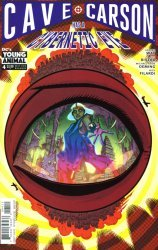 DC Comics's Cave Carson Has A Cybernetic Eye Issue # 4
