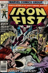 Marvel Comics's Iron Fist Issue # 13