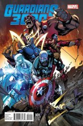 Marvel's Guardians 3000 Issue # 1d