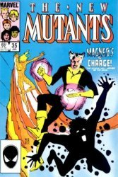 Marvel Comics's The New Mutants Issue # 35