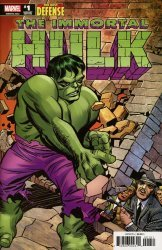 Marvel Comics's Immortal Hulk: The Best Defense Issue # 1e
