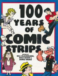 Barnes & Noble Books's 100 Years of Comic Strips Hard Cover # 1