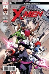Marvel Comics's Astonishing X-Men Issue # 9