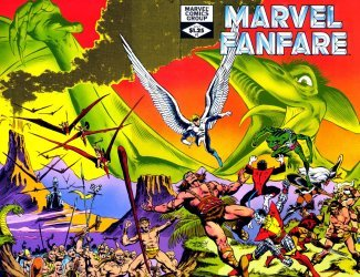 Marvel Comics's Marvel Fanfare Issue # 3