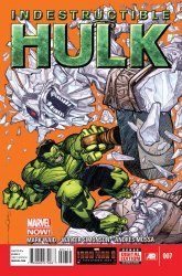 Marvel Comics's Indestructible Hulk Issue # 7