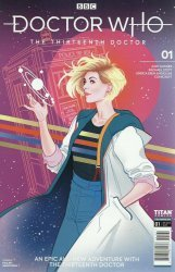 Titan Comics's Doctor Who: 13th Doctor Issue # 1f