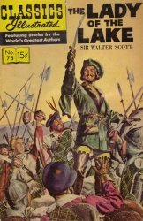 Gilberton Publications's Classics Illustrated #75: The Lady of the Lake Issue # 8