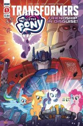 IDW Publishing's My Little Pony / Transformers: Friendship in Disguise Issue # 1 - 2nd print
