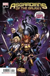 Marvel Comics's Asgardians of The Galaxy Issue # 4