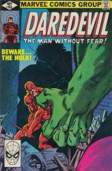 Marvel Comics's Daredevil Issue # 163