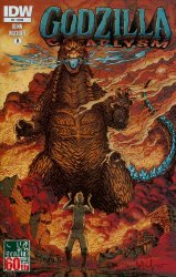 IDW Publishing's Godzilla: Cataclysm Issue # 3