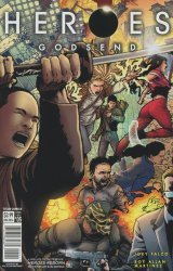 Titan Comics's Heroes: Godsend Issue # 5