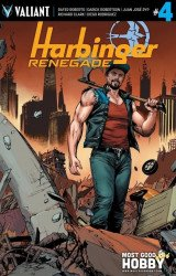 Valiant Entertainment's Harbinger: Renegade Issue # 4most good hobby