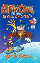 Electric Milk Comics's Captain Camel and the Space Chicken Soft Cover # 1