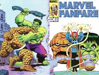Marvel Comics's Marvel Fanfare Issue # 21