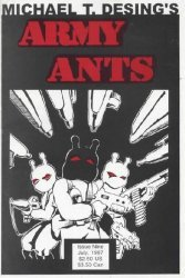 Teddy Bear Press's Michael T. Desing's Army Ants Issue # 9