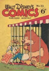 W.G.(Wogan)Publications's Walt Disney's Comics Issue # 22