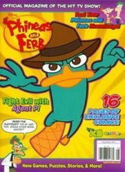 Disney Worldwide Publishing's Phineas and Ferb Issue # 24