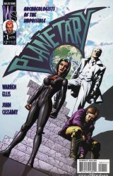WildStorm's Planetary Issue # 1