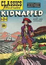 Gilberton Publications's Classics Illustrated #46: Kidnapped Issue # 1f
