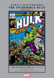 Marvel Comics's Marvel Masterworks: The Incredible Hulk Hard Cover # 13