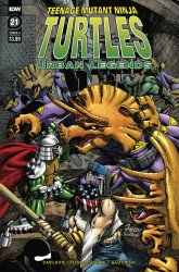 IDW Publishing's Teenage Mutant Ninja Turtles: Urban Legends Issue # 21