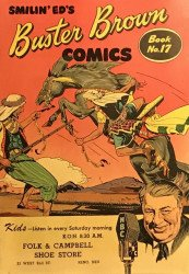 Buster Brown Shoes's Buster Brown Comics Issue # 17folk