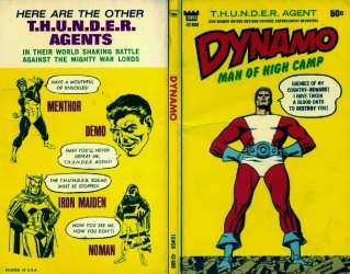 Tower Comics's Dynamo: Man of High Camp Soft Cover # 1