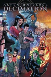 Aspen Entertainment's Aspen Universe: Decimation Issue # 4b