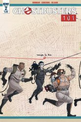 IDW Publishing's Ghostbusters 101 Issue # 2
